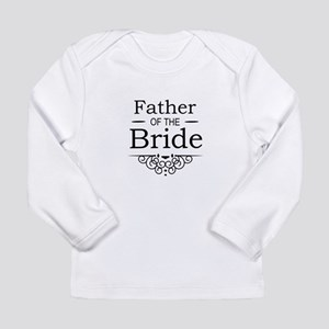 Father of the Bride black Long Sleeve T-Shirt