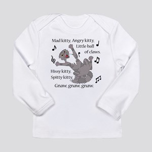 Mad Kitty Angry Kitty Long Sleeve T-Shirt