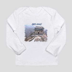 Beijing And The Great Wall Long Sleeve T-Shirt