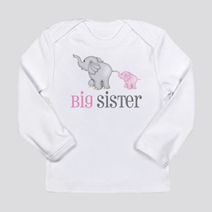 Big Sister Elephant Long Sleeve T-Shirt
