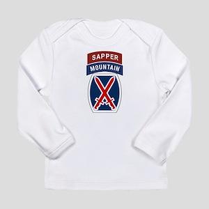 10th Mountain Sapper Long Sleeve Infant T-Shirt