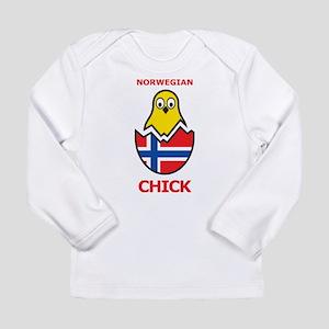 Norwegian Chick Long Sleeve Infant T-Shirt