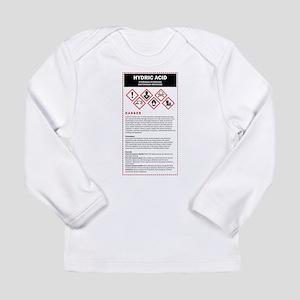 Hydric Acid / DHMO Warning Lab Long Sleeve T-Shirt