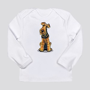 Airedale Welsh Terrier Long Sleeve Infant T-Shirt