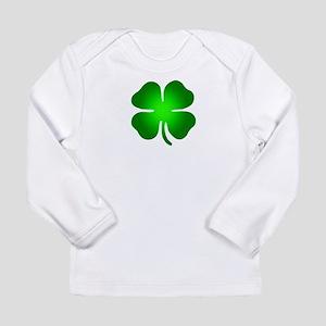 Four Leaf Clover Long Sleeve Infant T-Shirt