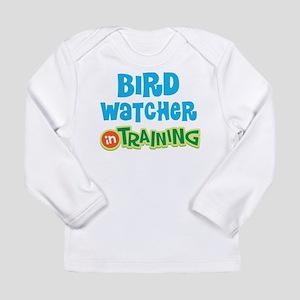 Bird watcher in trainin Long Sleeve Infant T-Shirt