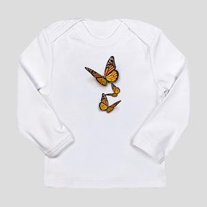 Monarch Butterlies Long Sleeve T-Shirt