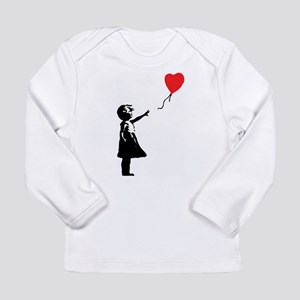 Banksy - Little Girl with Ballon Long Sleeve T-Shi