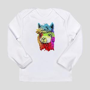 Color Me Alpaca Long Sleeve T-Shirt