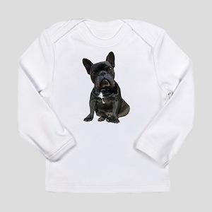 French Bulldog Puppy Po Long Sleeve Infant T-Shirt