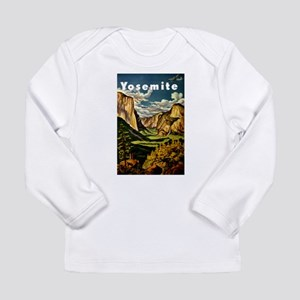 Vintage Yosemite Travel Long Sleeve T-Shirt