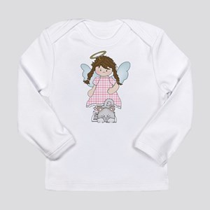 Angel Abby and Fluffy Long Sleeve Infant T-Shirt