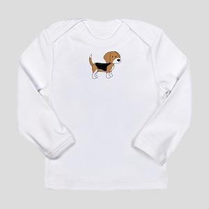 Cute Beagle Long Sleeve Infant T-Shirt