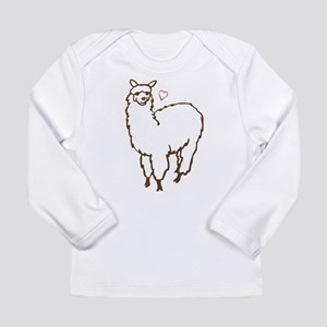 Cute Alpaca Long Sleeve Infant T-Shirt