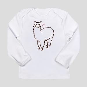Cute Alpaca Long Sleeve Infant T-Shirt