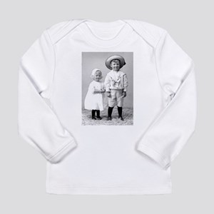 Brother and Sister Long Sleeve Infant T-Shirt