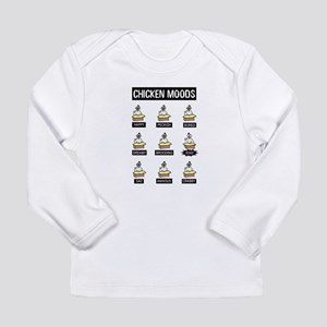 Chicken Moods Long Sleeve T-Shirt