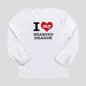 I love my Bearded Dragon Long Sleeve Infant T-Shir
