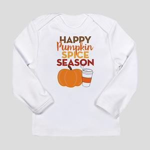 Pumpkin Spice Season Long Sleeve Infant T-Shirt