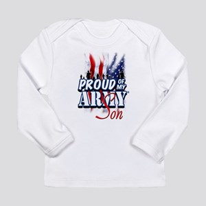 Proud of My Army Son Long Sleeve T-Shirt