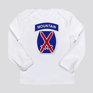 SSI - 10th Mountain Division Long Sleeve Infant T-