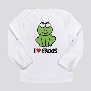 I Love Frogs Long Sleeve Infant T-Shirt