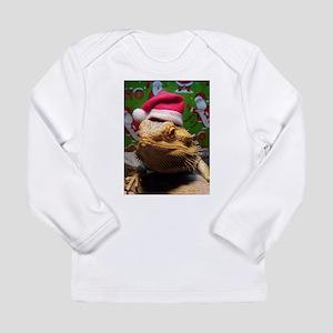 Beardie Santa Hat Long Sleeve T-Shirt