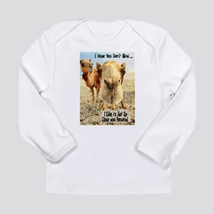 I Like to Get Up Close and Pe Long Sleeve Infant T