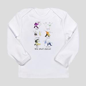 Ballroom Dancers Long Sleeve Infant T-Shirt