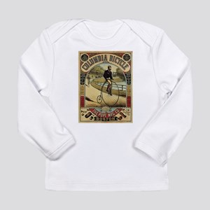 Vintage poster - Columbia Bicy Long Sleeve T-Shirt