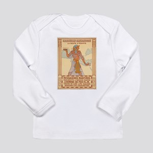 Vintage poster - Egypt Long Sleeve T-Shirt