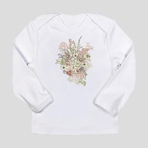Wildflower Bouquet Long Sleeve Infant T-Shirt
