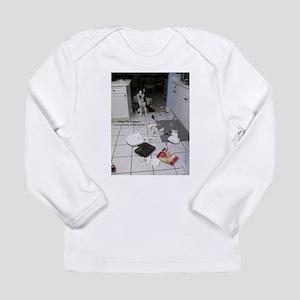 Innocent Siberian Husky Long Sleeve T-Shirt
