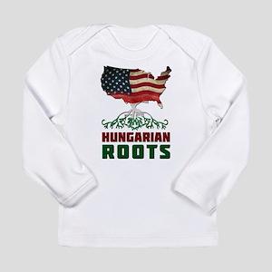 American Hungarian Roots Long Sleeve T-Shirt