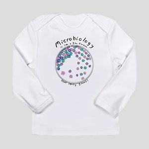 Microbiology is a Zen Garden Long Sleeve T-Shirt