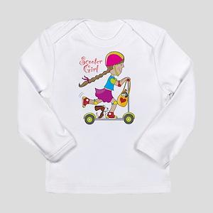 Scooter Girl Long Sleeve Infant T-Shirt