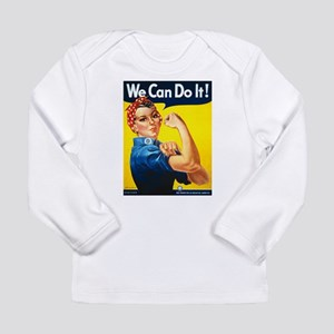 We Can Do It, Rosie the Riveter Long Sleeve T-Shir