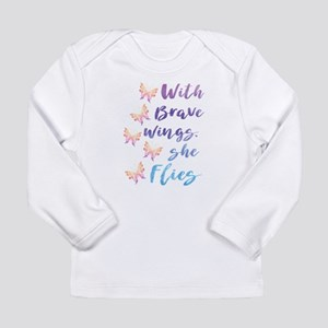 Brave Wings Long Sleeve T-Shirt