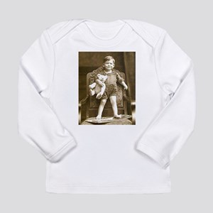 Mighty Teddy Long Sleeve Infant T-Shirt