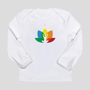 Namaste Symbol Long Sleeve Infant T-Shirt