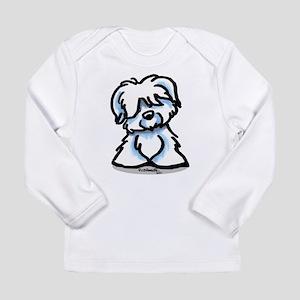 Coton Cartoon Long Sleeve Infant T-Shirt