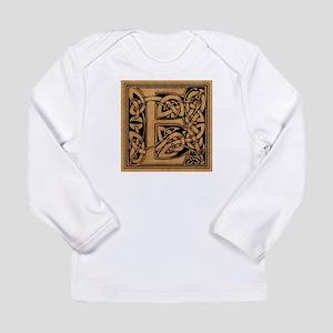 Celtic Monogram E Long Sleeve Infant T-Shirt