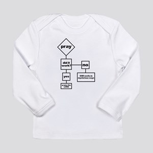 Prayer Flow Chart Long Sleeve Infant T-Shirt