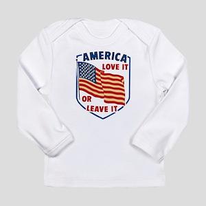 America Love it Long Sleeve T-Shirt