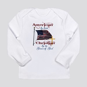 American by Birth Christian By Grace of God Long S