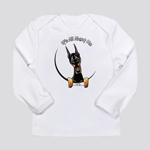 Doberman IAAM Long Sleeve Infant T-Shirt