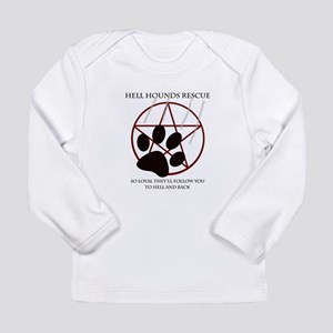 Hell Hounds Rescue wt Long Sleeve Infant T-Shirt