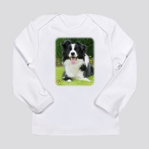 Border Collie 9A014D-14 Long Sleeve Infant T-Shirt
