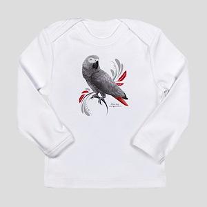 African Grey Parrot Long Sleeve T-Shirt