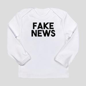 Fake News fashionable Post Tru Long Sleeve T-Shirt